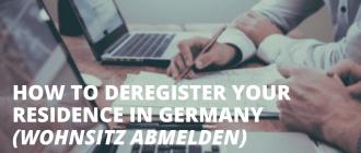 Как зарегистрироваться в квартире в Германии и встать на учет в Ауслендерамте