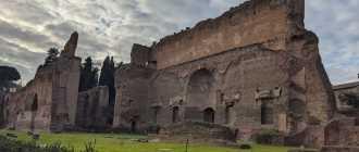 Термы Каракаллы — самые большие купальни Древнего Рима