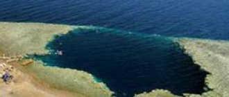 Голубая дыра в Красном море — рай для дайверов