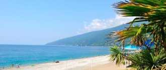 Лучшие пляжи Абхазии, где лучше отдыхать и отзывы туристов