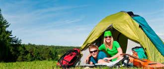 Как выбрать туристическую палатку для зимнего отдыха, похода или рыбалки