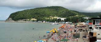 Туапсинский район поселок Лермонтово: фото пляжа, моря и красивые места