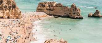 Отдых в алгарве – достопримечательности, развлечения, пляжи, курорты, цены 2021