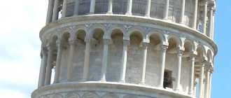 Пизанская башня Пиза: википедия, почему наклонена и где находиться уникальное сооружение