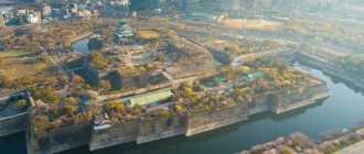 Замок Осака, Япония — подробная информация с фото