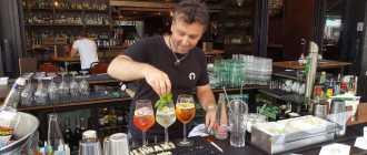 Сколько зарабатывает бармен