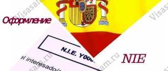Получение NIE в консульстве Испании