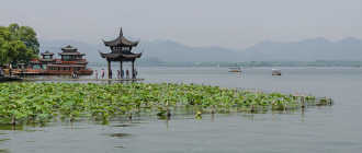 Где находится Озеро Сиху. Местоположение озера Сиху на карте Ханчжоу и описание