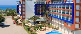 Турецкий курорт в городе Алания, пляж Клеопатры, отели рядом