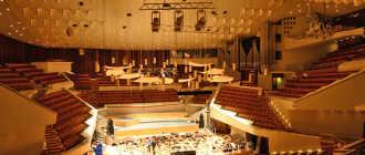 Берлинская филармония: архитектурные особенности и внутреннее убранство