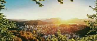 Где находится Люблянский замок. Местоположение Люблянского замка на карте Любляны и описание